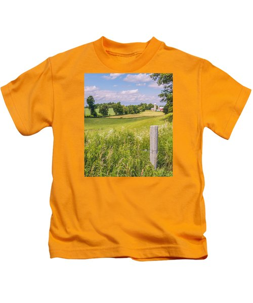 A Nation's Bread Basket  Kids T-Shirt