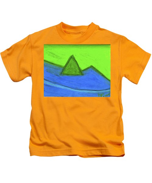 Abstract 92-001 Kids T-Shirt