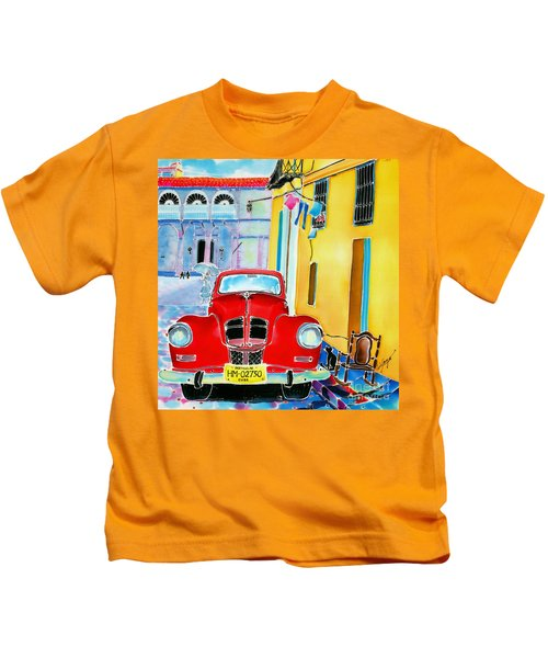 Afternoon In Havana Kids T-Shirt