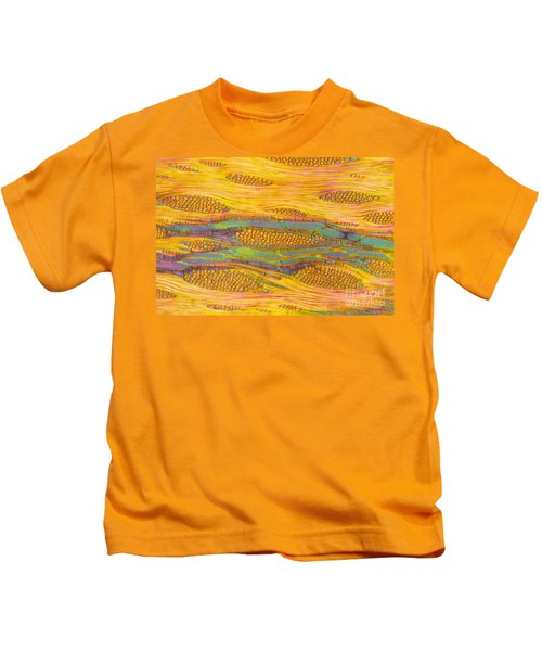 Ailanthus Tree, Wood Section Kids T-Shirt