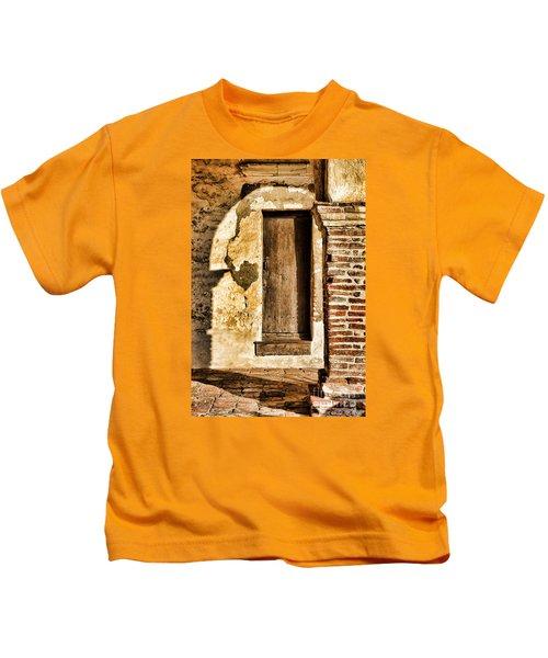 Arched Shadow By Diana Sainz Kids T-Shirt