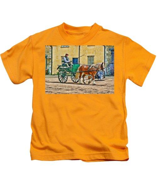 At The Blacksmiths Kids T-Shirt