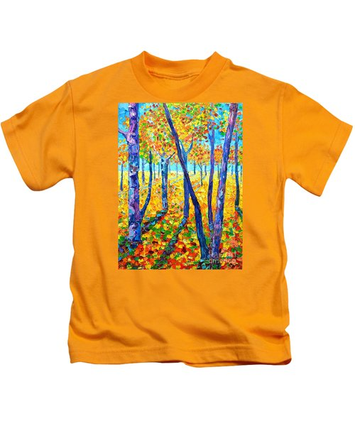 Autumn Colors Kids T-Shirt