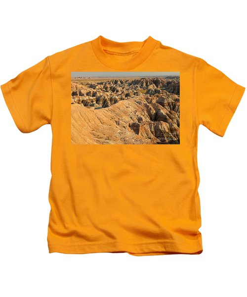 Burns Basin Overlook Badlands National Park Kids T-Shirt