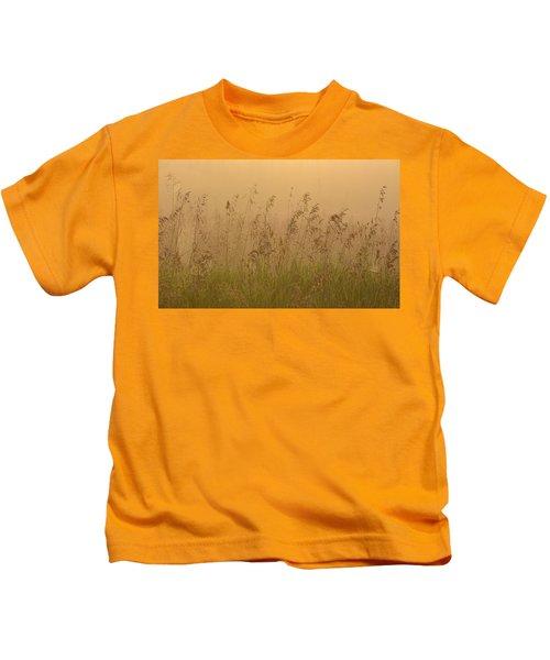 Early Morning Field Kids T-Shirt