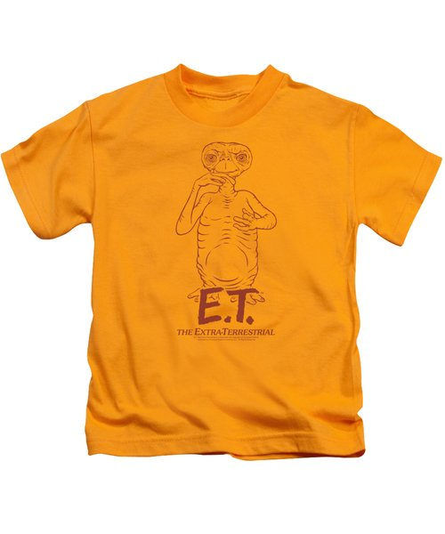 Et - Alien Swag Kids T-Shirt by Brand A