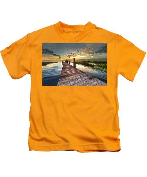 Evening Dock Kids T-Shirt
