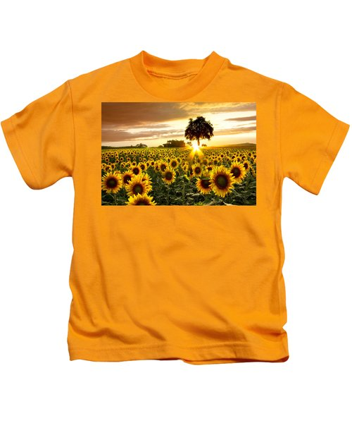 Fields Of Gold Kids T-Shirt