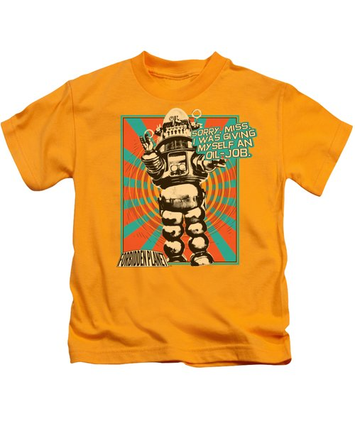 Forbidden Planet - Oil Job Kids T-Shirt