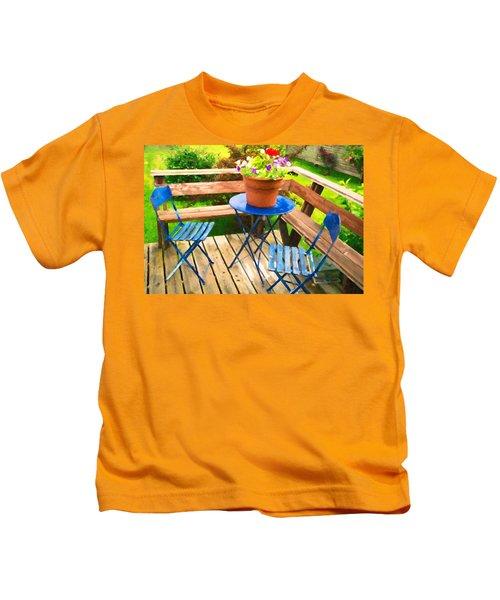 Garden Party Kids T-Shirt