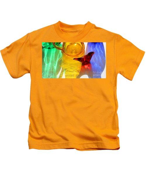 Glass Reflections #8 Kids T-Shirt