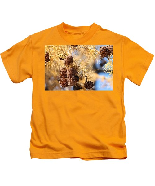 Golden Needles Kids T-Shirt