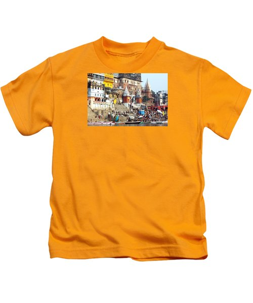 Good Morning Ganga Ji 2 Kids T-Shirt