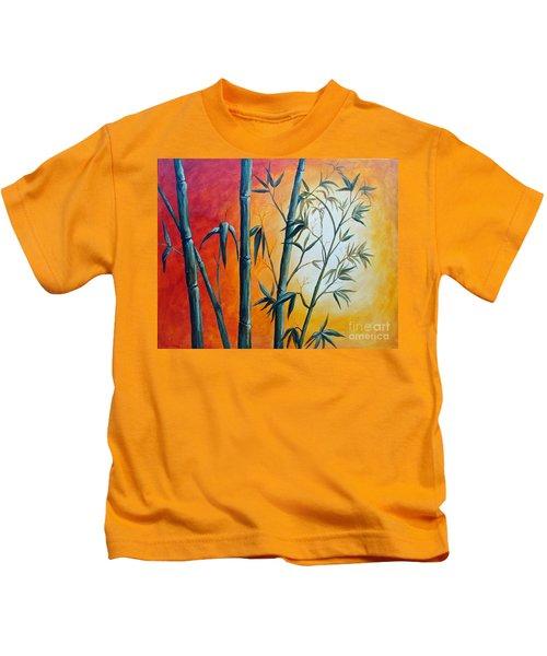 Hot Bamboo Days Kids T-Shirt