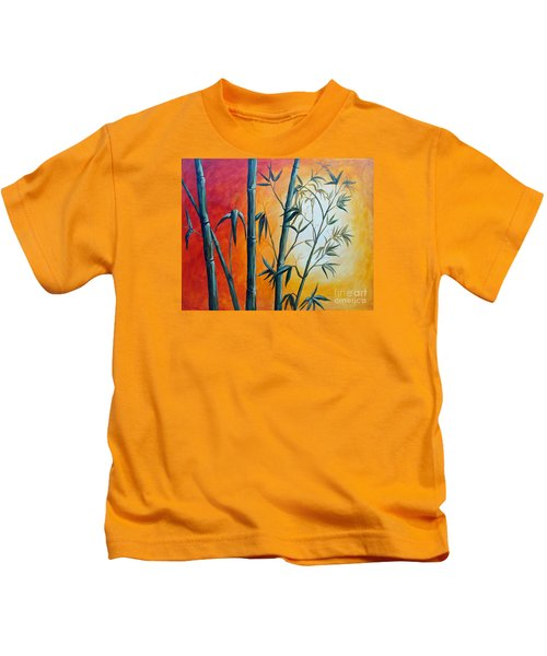 Hot Bamboo Days Kids T-Shirt