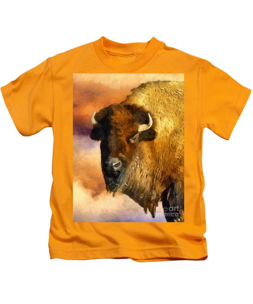 Icon Of The Plains Kids T-Shirt