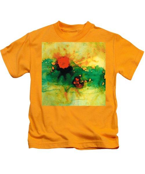Jubilee - Abstract Art By Sharon Cummings Kids T-Shirt