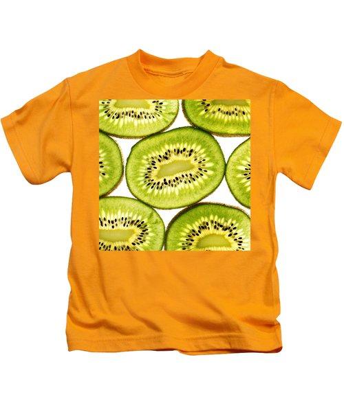 Kiwi Fruit IIi Kids T-Shirt