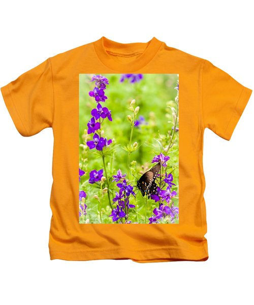 Larkspur Visitor Kids T-Shirt