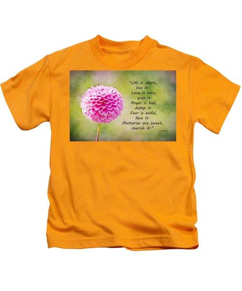 Life Is Short Kids T-Shirt