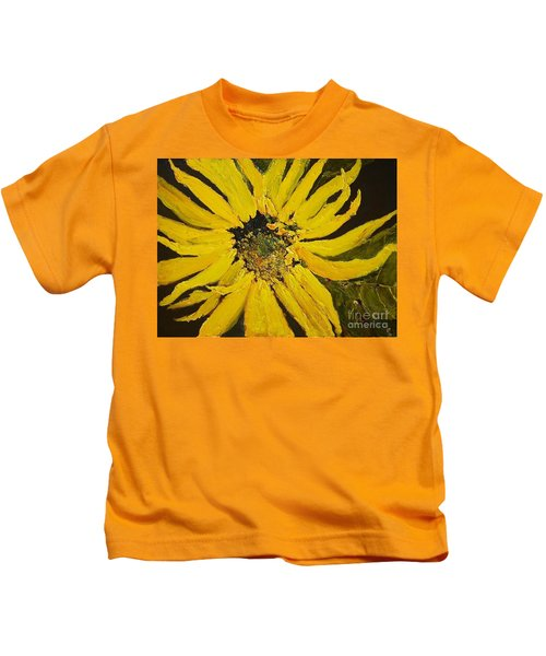 Linda's Arizona Sunflower 2 Kids T-Shirt