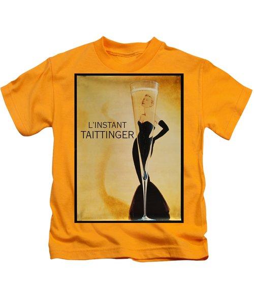 L'instant Taittinger Kids T-Shirt
