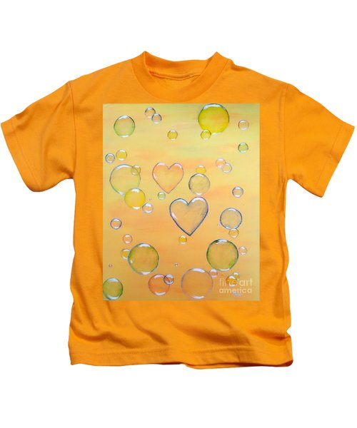 Love Is In The Air Kids T-Shirt