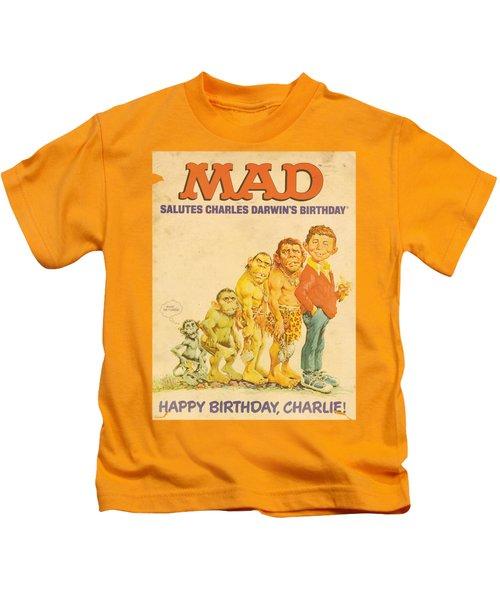 Mad - Charles Kids T-Shirt