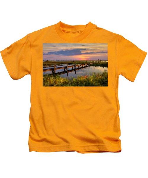 Marsh Harbor Kids T-Shirt