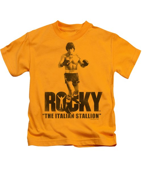 Mgm - Rocky - The Italian Stallion Kids T-Shirt