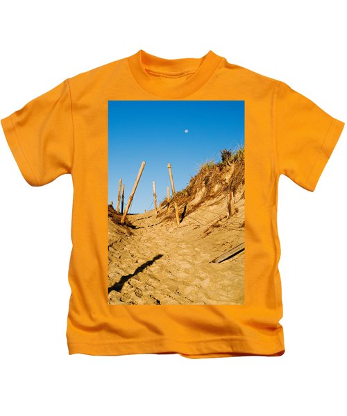Moon And Dunes Kids T-Shirt