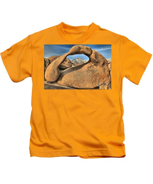 Mt Whitney Frame Kids T-Shirt