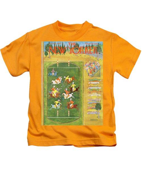 New Yorker September 21st, 1963 Kids T-Shirt