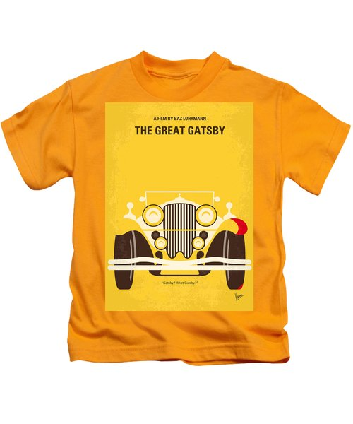 No206 My The Great Gatsby Minimal Movie Poster Kids T-Shirt