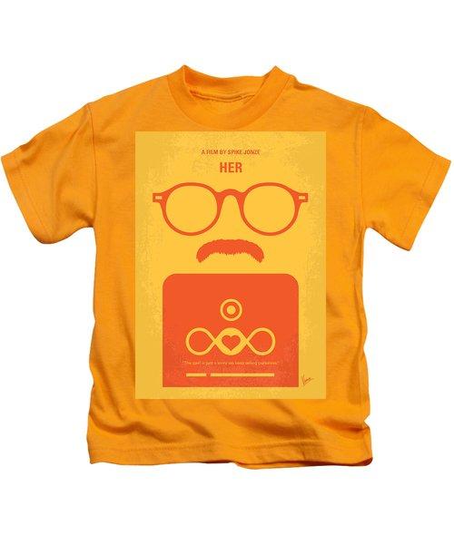 No372 My Her Minimal Movie Poster Kids T-Shirt