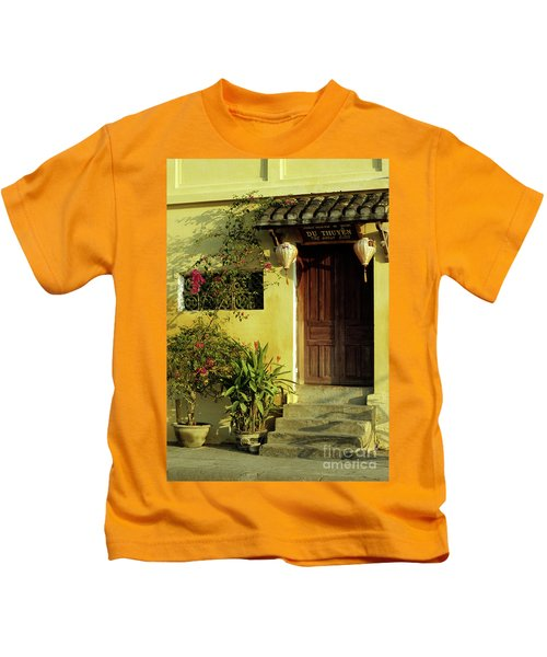 Ochre Wall 01 Kids T-Shirt