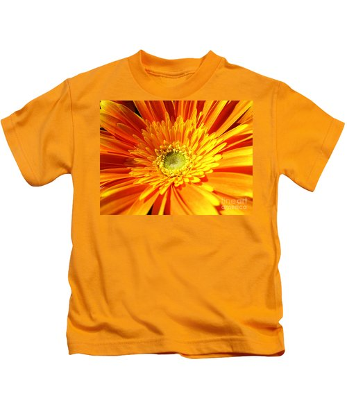 Orange Gerbera Kids T-Shirt