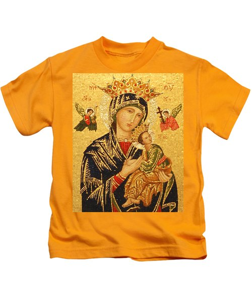 Our Lady Of Perpetual Help  Kids T-Shirt