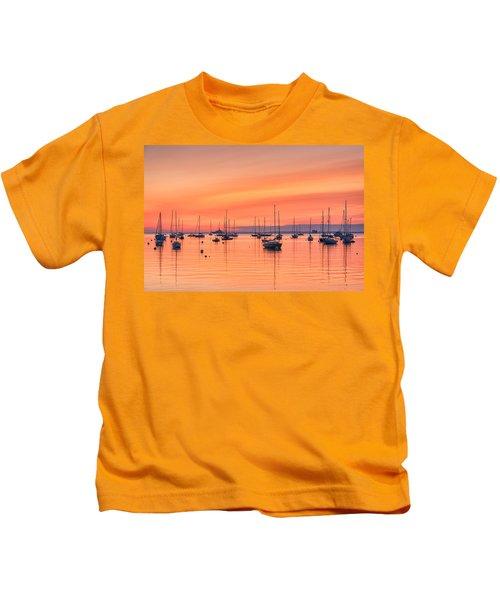 Pastel Harbor Kids T-Shirt