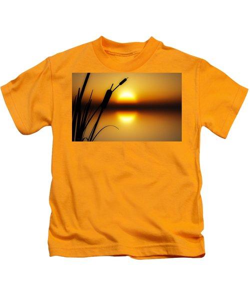 Peaceful Dawn Kids T-Shirt