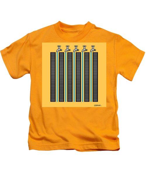 Running Waters Kids T-Shirt