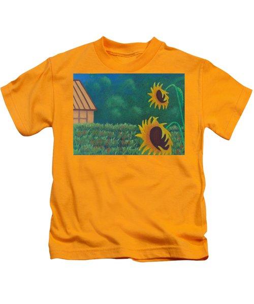Sergi's Sunflowers Kids T-Shirt