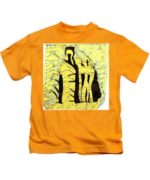 Shroud Of Jesus Kids T-Shirt