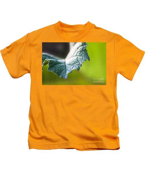 Slice Of Leaf Kids T-Shirt