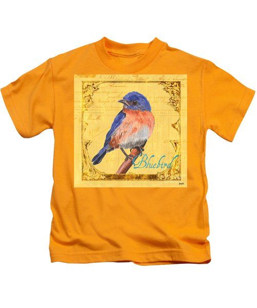 Colorful Songbirds 1 Kids T-Shirt