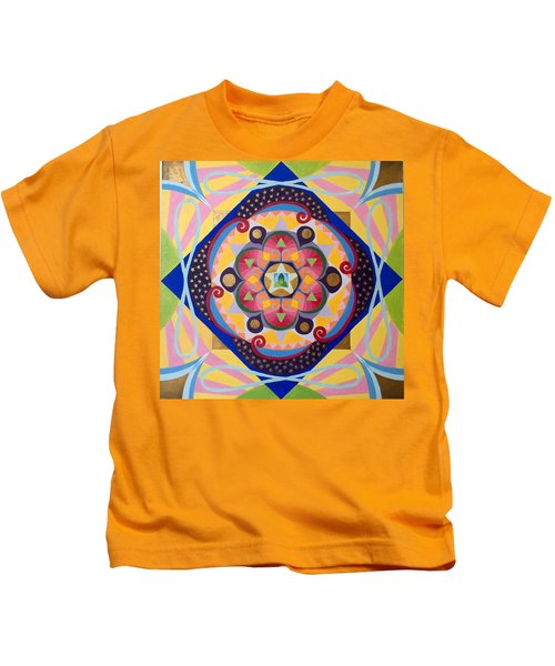 Star Mandala Kids T-Shirt