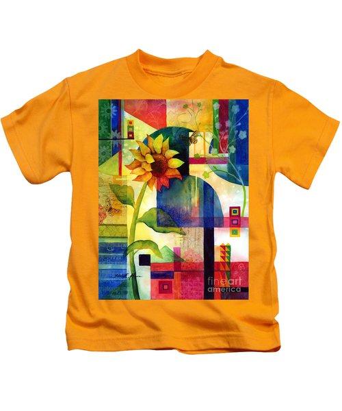 Sunflower Collage Kids T-Shirt