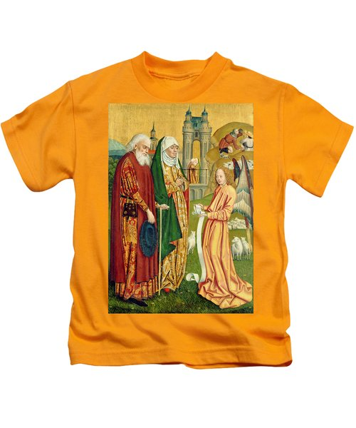 The Annunciation To Joachim And Anne, From The Dome Altar, 1499 Kids T-Shirt