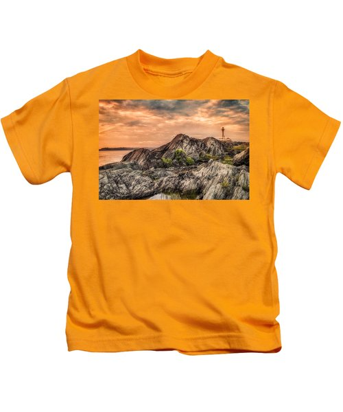 The Calm Before The Storm Kids T-Shirt