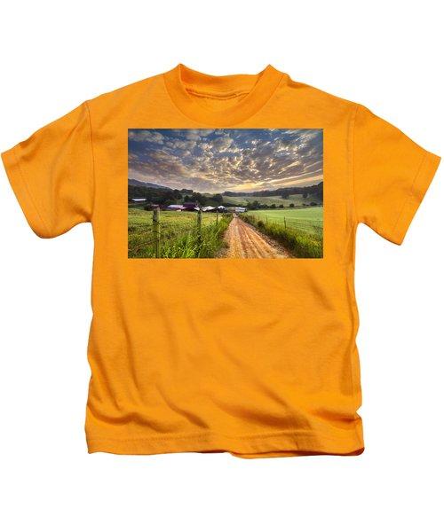 The Old Farm Lane Kids T-Shirt